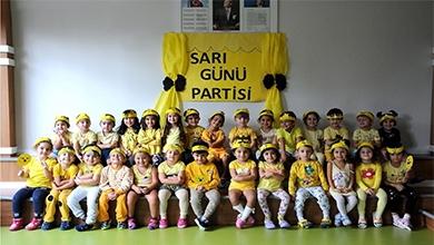 Erkan Koleji Anaokulumuzda renk partisi günlerimiz başladı.