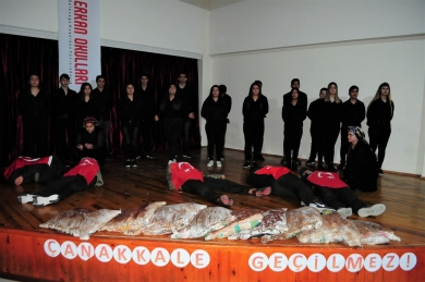 ÇANAKKALE ZAFERİ'NİN 104. YILINI ANDIK!